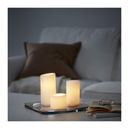 IKEA Strala LED Floor Lamp Light Birch