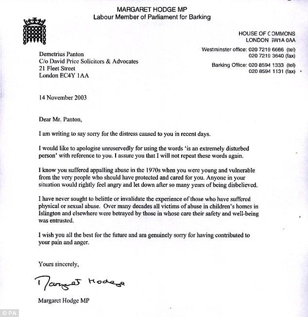 child abuse victim asks senior labour figures linked paedophile - permission to travel letter template