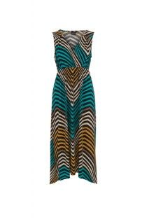 Pacific Teal Hi Low Maxi Dress #summer #summerdress #tribalsportswear #maxidress #dress #fashion #style #summerstyle