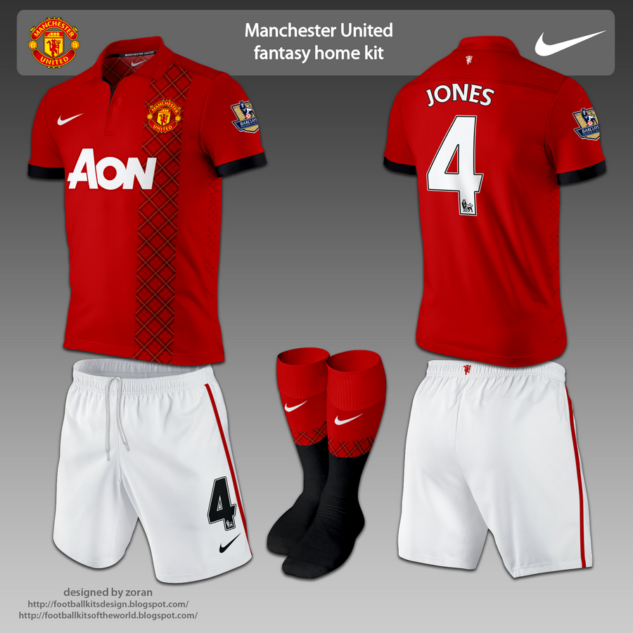 Manchester United fantasy home kit