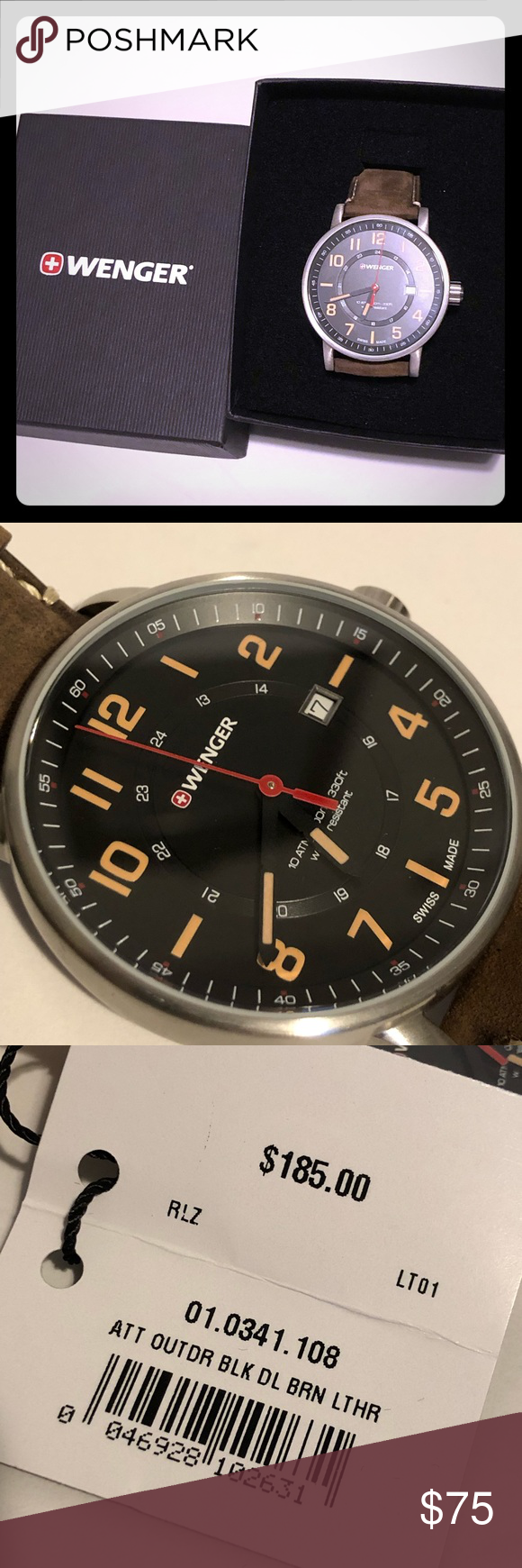 Virtuoso 8040 N Sapphire Crystal With Anti Reflective Coating Helium Valve With A Coin Edged Screw Down Crown Ensures Water Res Virtuoso Chrono Quartz Movement