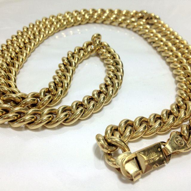 fc38cd49e6cd Brev Chini Chain Necklace 86.1 grams of 18k gold Coming soon to  easysale  on  ebay  fashion  ballsohard