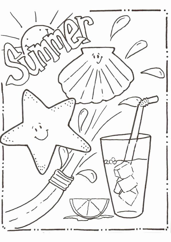 Free Printable Summer Coloring Pages Beautiful Download Free