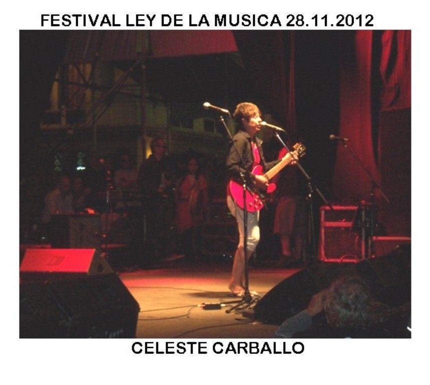 Ley de la MuSica Festejos ConGreso 28.11.2012-Celeste Carballo