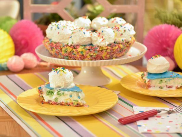 Get Rainbow Confetti Birthday Pie Recipe From Food Network