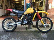 YAMAHA YZ490K 1983 VINTAGE MOTOCROSS EVO TWINSHOCK MX  23X RUNNING PROJECT