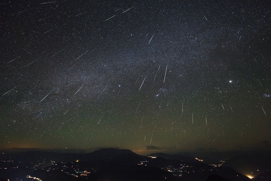 Geminid Meteor Shower over Dashanbao Wetlands  Image Credit & Copyright: Jeff Dai