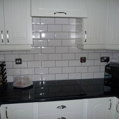 Black And Cream Kitchen Tiles: Galleries, Videos & More