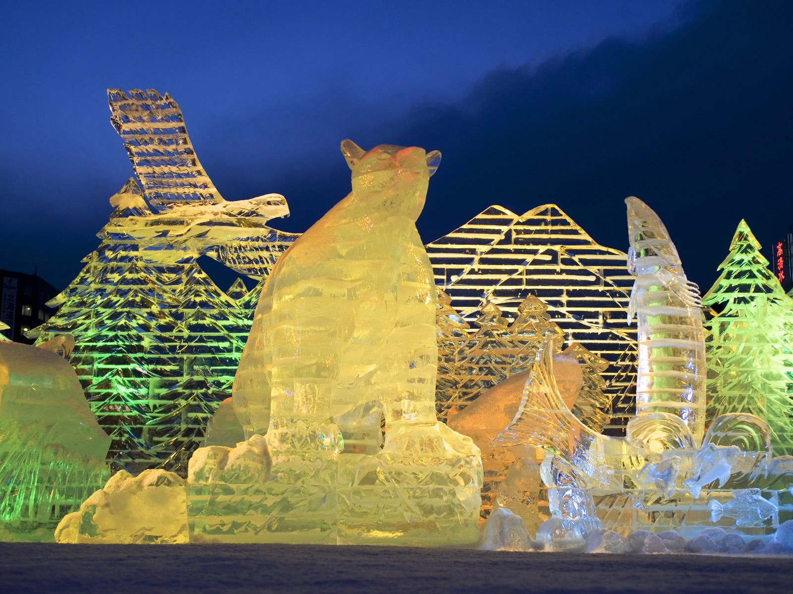 Sapporo Snow Festival, Japan | US National Snow Sculpting Week with Crippen Buick GMC Mazda ...