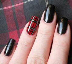 Tartan Nail Art Plaid Nails Plaid Nail Art Nail Designs