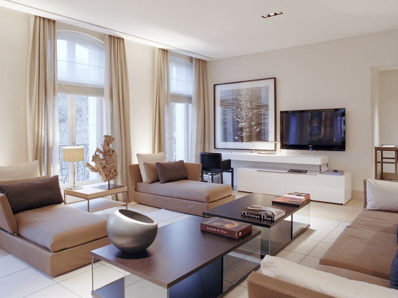 La Reserve Paris Apartments 5 Star Luxury Apartments Paris Family Living Rooms Paris Luxury Apartment Design