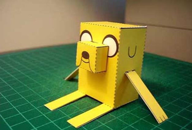 Adventure Time Paper Foldables Papercraft