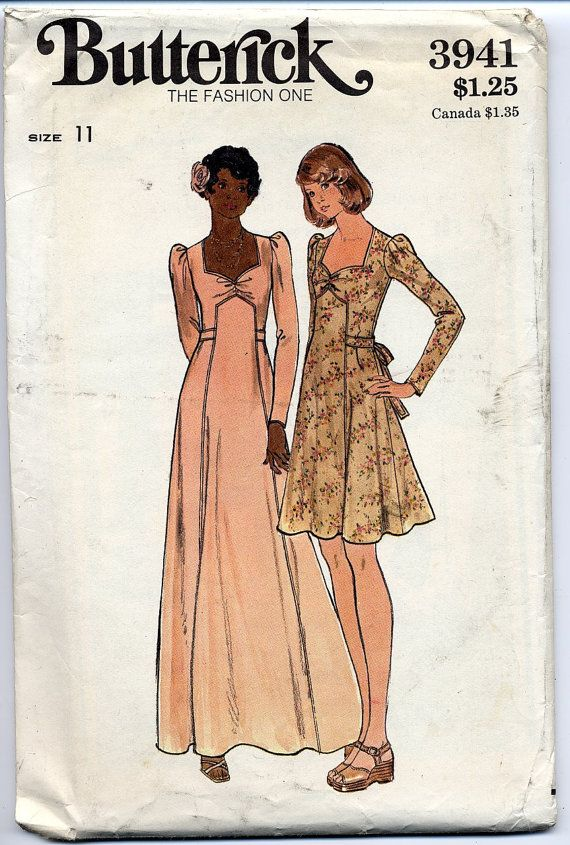 Vintage kleider 70 jahre