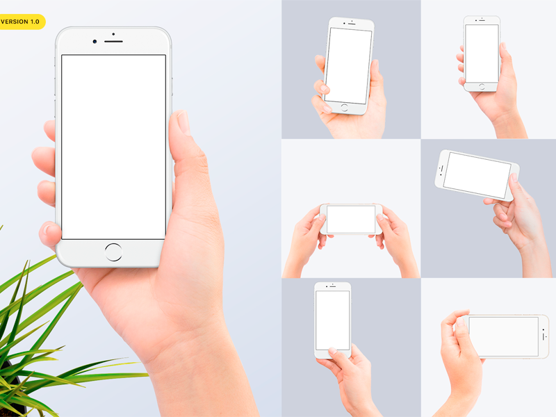 Download Hands Holding Iphone 7 Mockups Iphone Iphone Mockup Mockup Free Psd