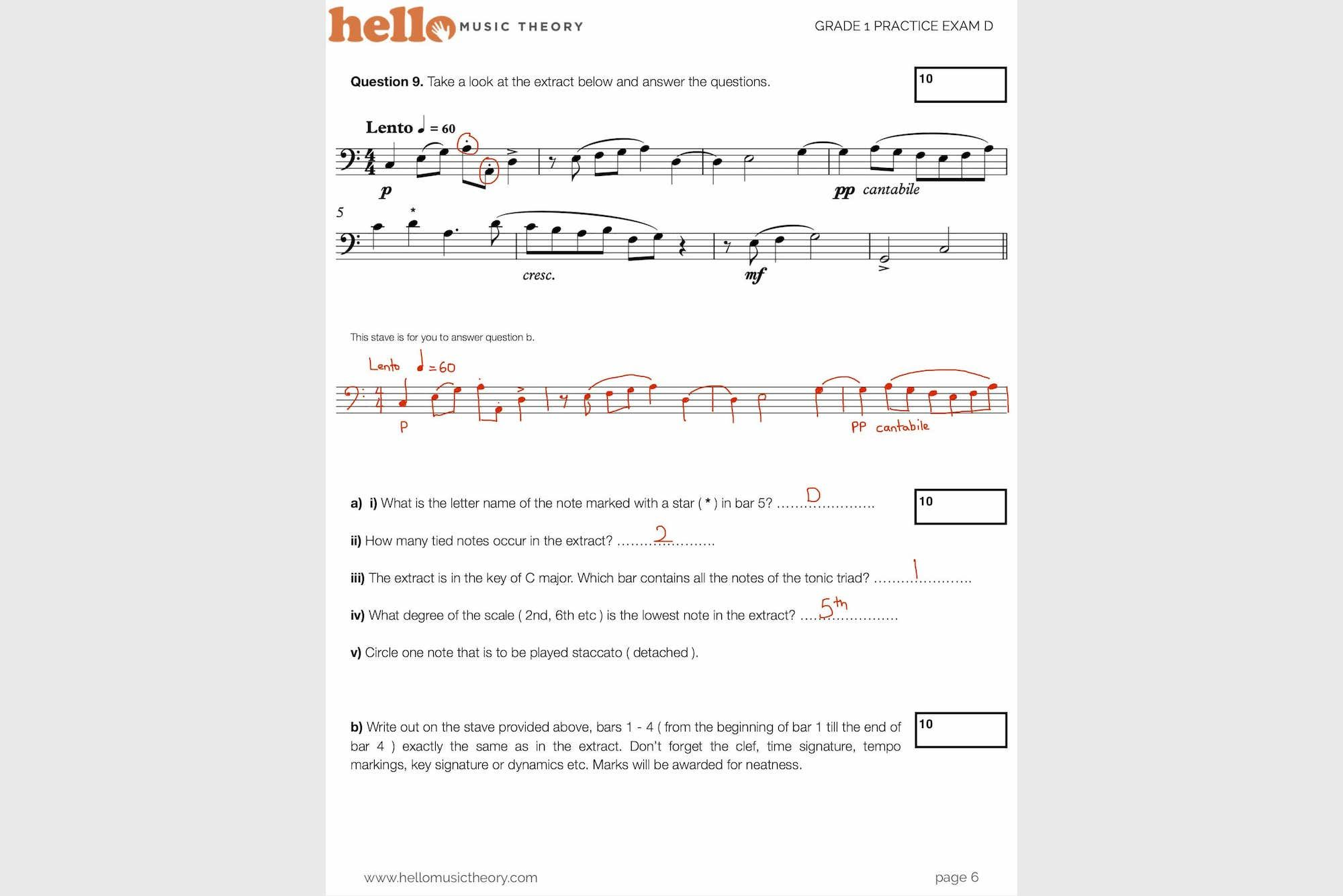 Pin By Hello Music Theory On Grade 1 Music Theory Exams