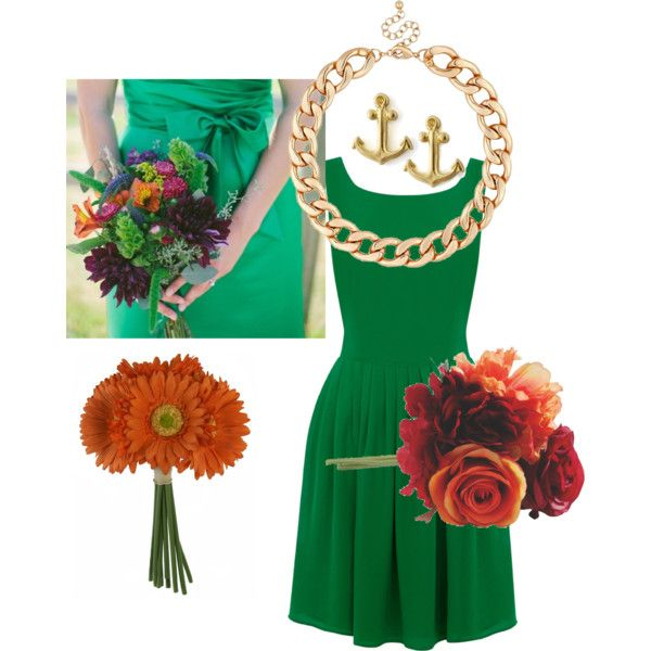 """Green Wedding"" by marobey on Polyvore"
