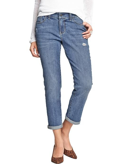 Women's Cuffed Denim Capris | clothing ideas | Pinterest | Denim ...