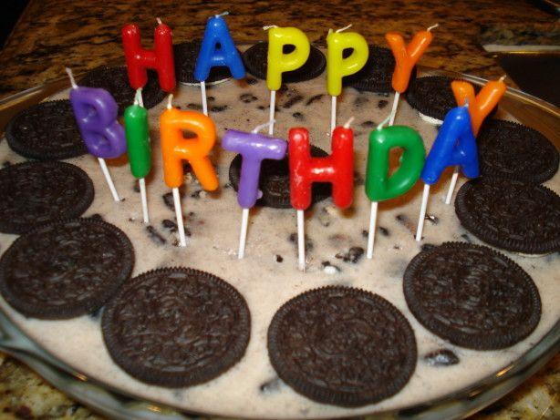 Oreo White Chocolate Mousse Cake