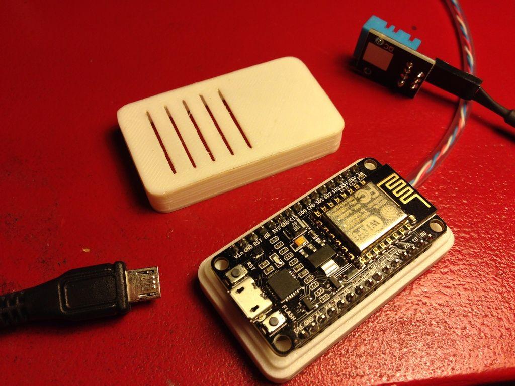 8724a4f198fa0 Case for NodeMCU | esp8266 | Arduino, Impression 3d, Electronics