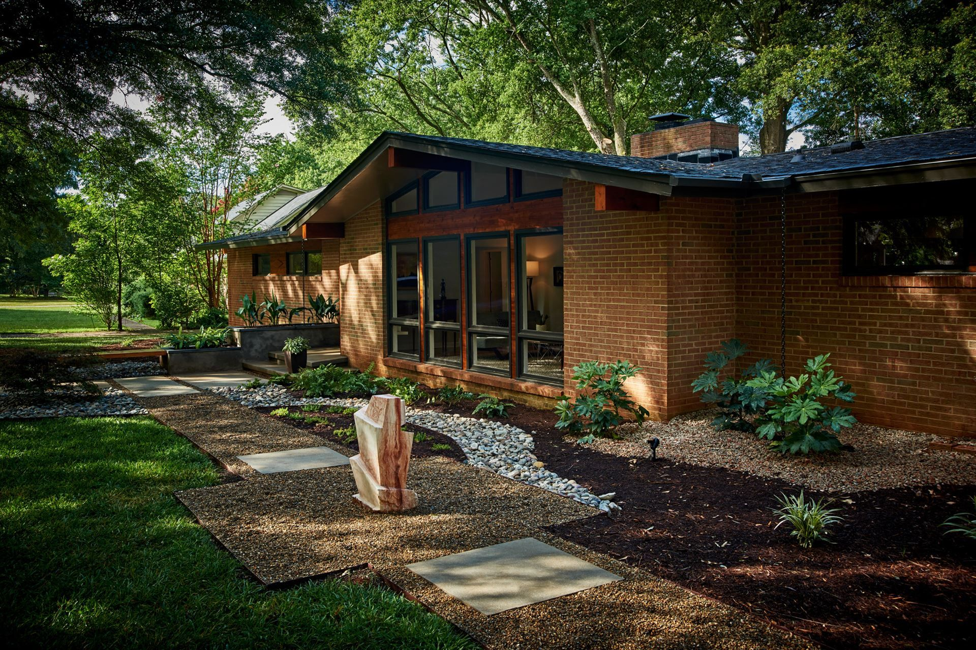 Image Result For Modern Ranch Landscaping Modern Ranch