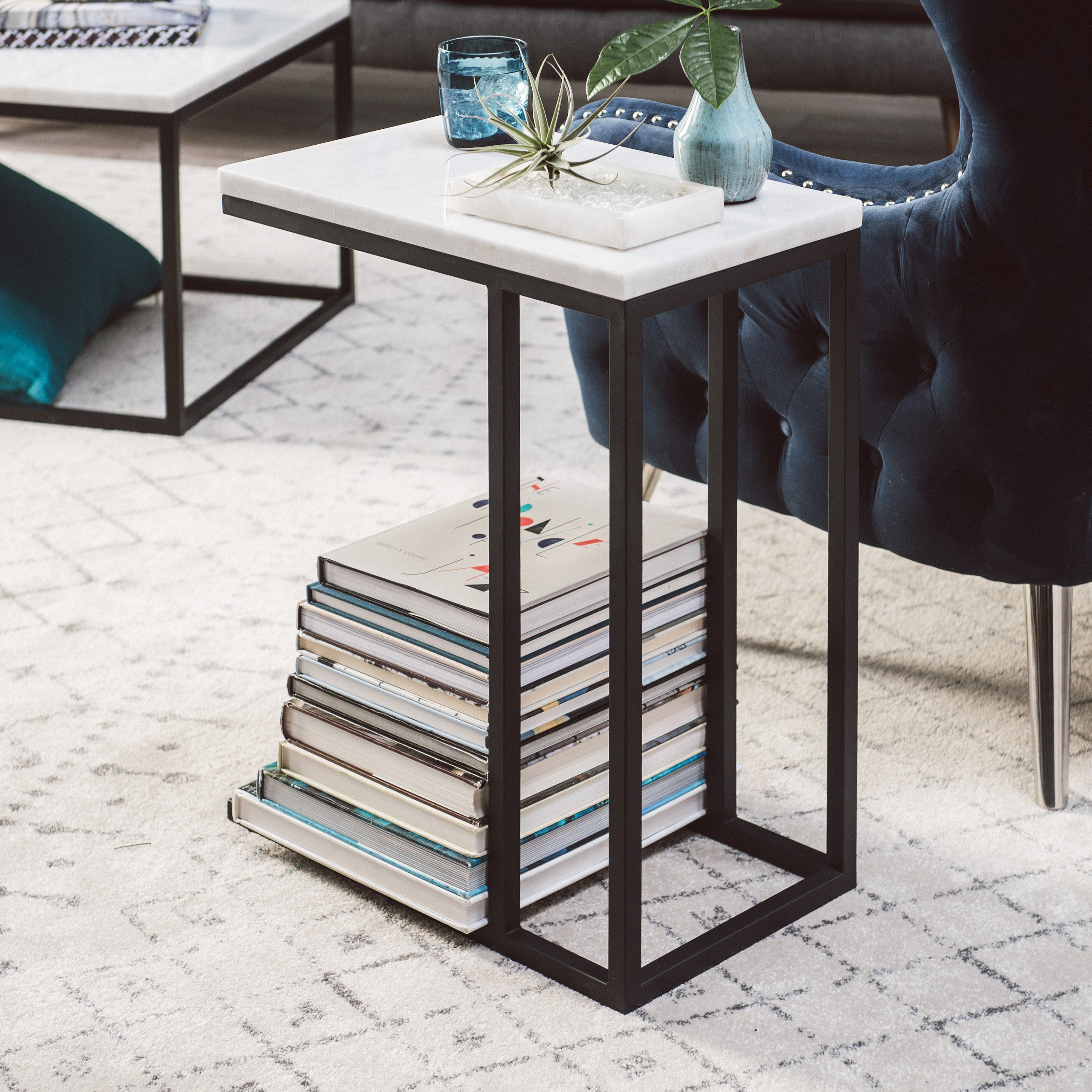 Belham Living Sorenson C Table With Marble Top Mct20 1