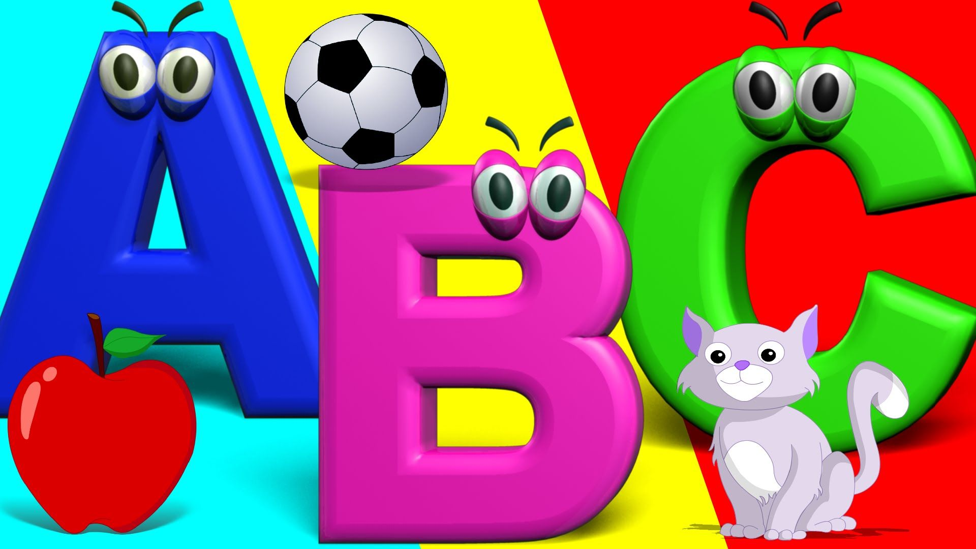 The Big Phonics Song | Phonics Letter Song A-Z | Nursery Rhymes For ...