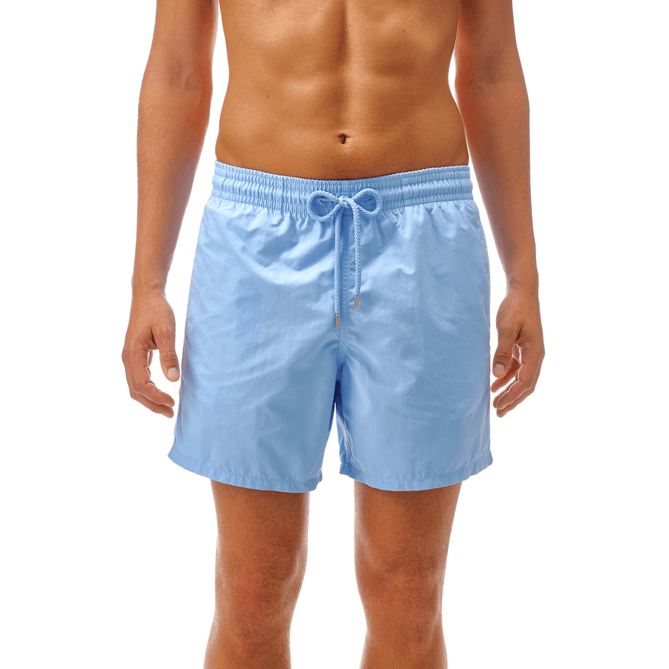 Vilebrequin Mens Moorea Solid Swim Trunk Swim Trunks