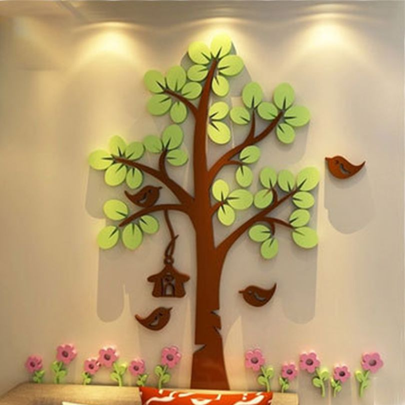 giant tree 3D wall decor - Google Search | House Stuff | Pinterest ...