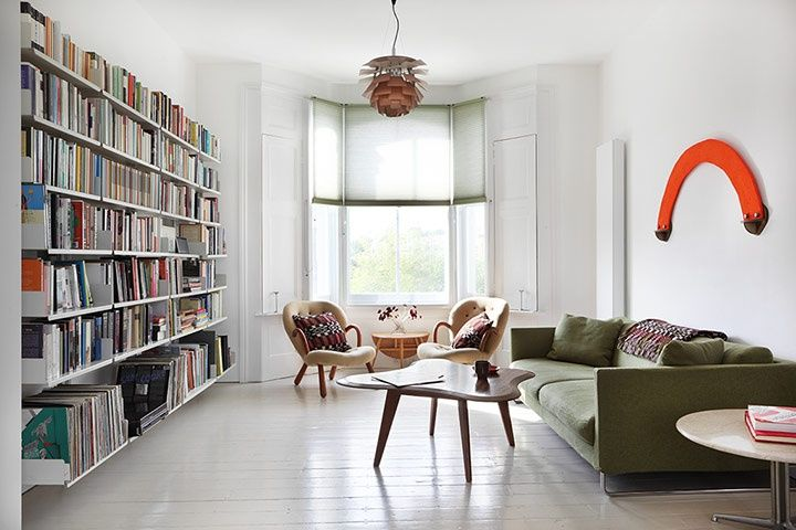 Interior design ideas a glimpse inside gallery owner jimi lees white home