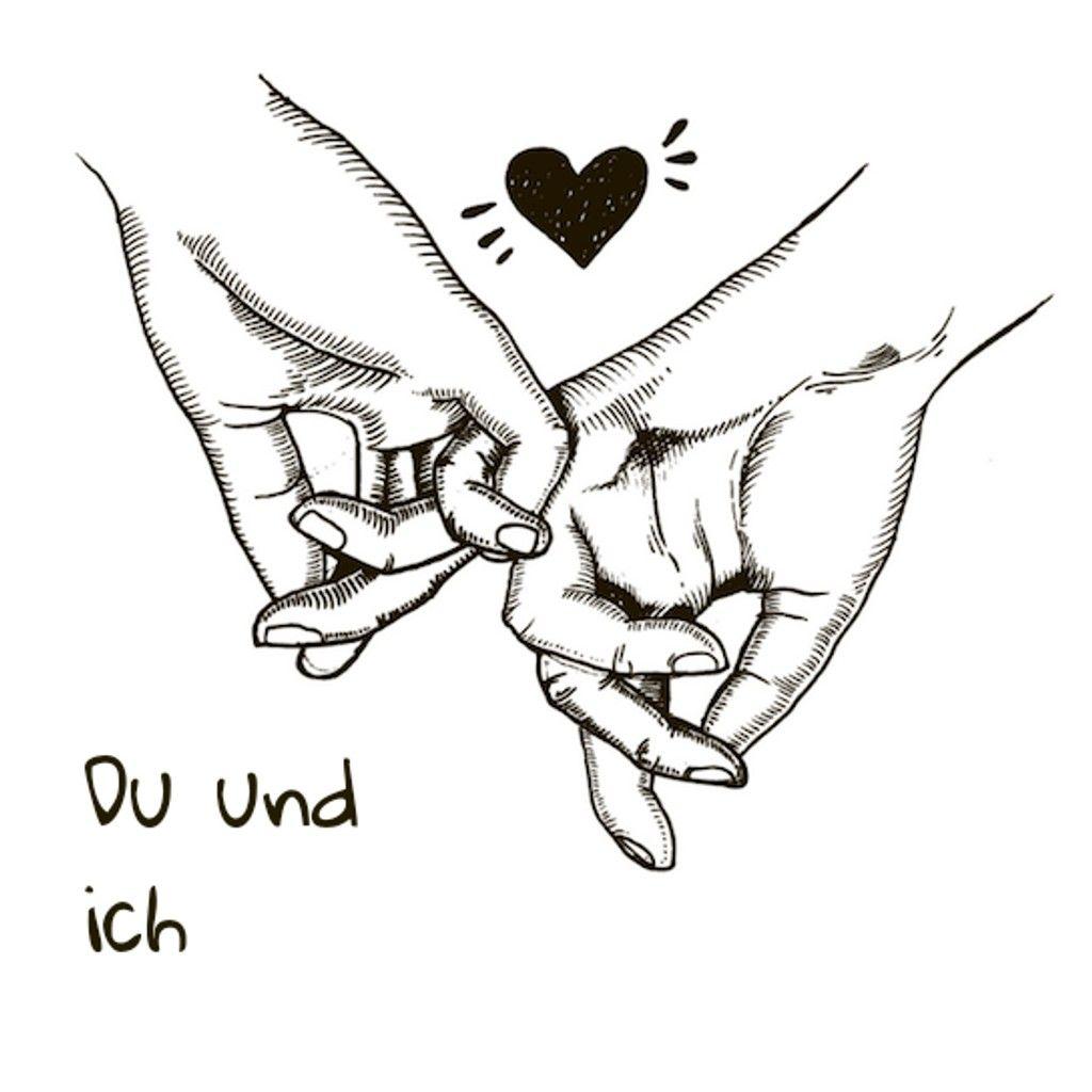 Pärchen Hände