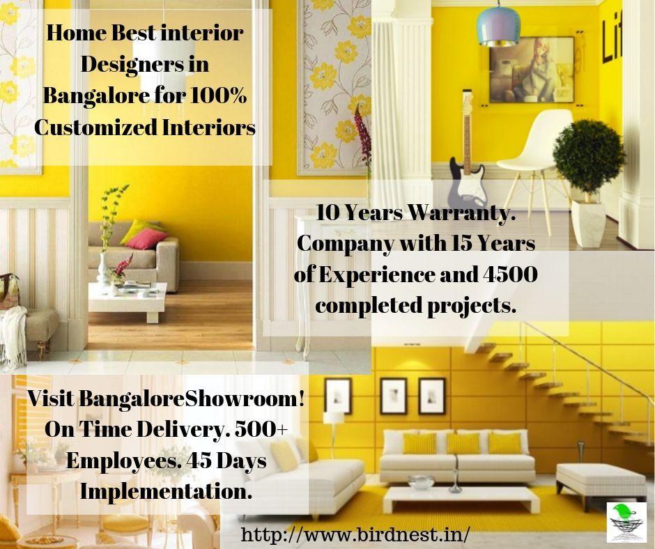 Bird Nest Interiors Bangalore Top Company For Customized Home