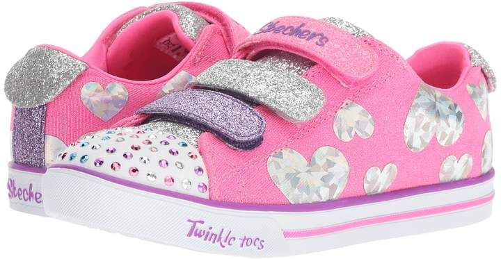9b000950e25d Skechers Twinkle Toes - Sparkle Lite 20051L Girl s Shoes