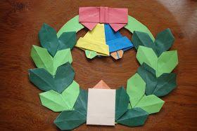 Jujubas*: Guirlanda de origami