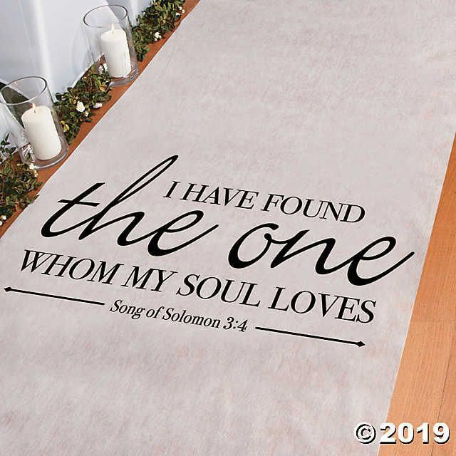 Song of Solomon Aisle Runner | Oriental Trading