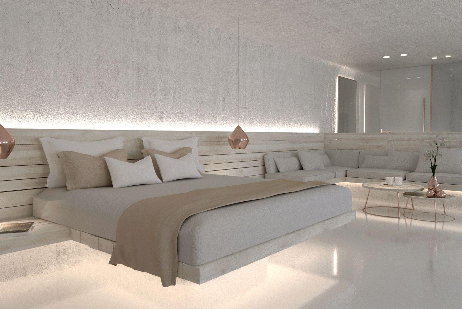 Modern interieur in het meraki beach resort hurghada egypte