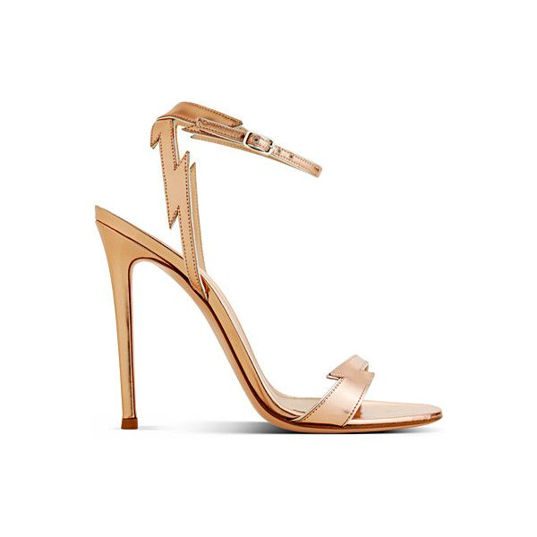 OOOK - Gianvito Rossi - Shoes 2014 Spring-Summer - LOOK 2 | Lookovore ❤ liked on Polyvore featuring shoes, sandals, heels, scarpe, summer footwear, sergio rossi, heeled sandals, summer shoes and sergio rossi sandals