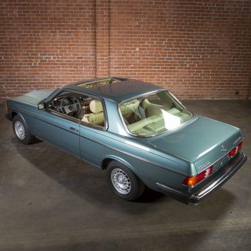 1985 Mercedes-Benz 300CD Turbo Diesel Coupe   Mercedes-Benz: 2000