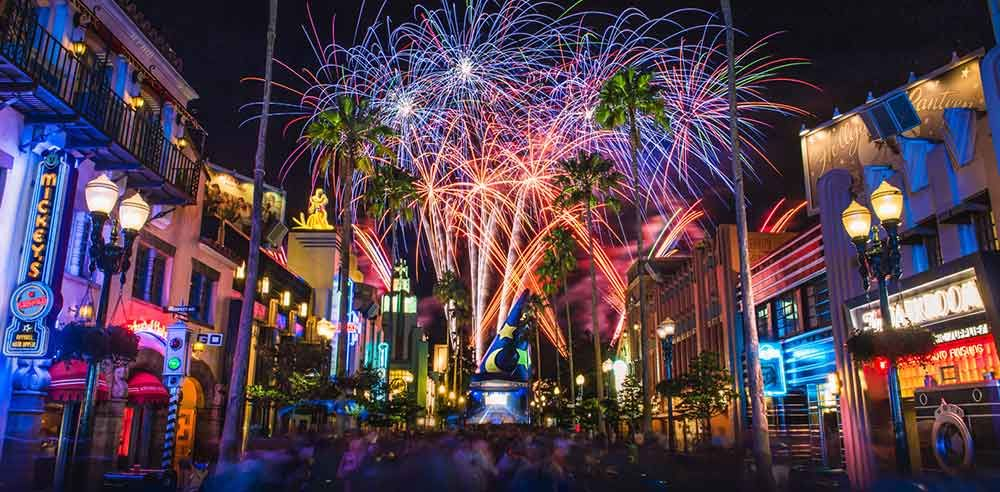 Happy New Year Ring In The Celebrations From Disney Parks Around The Globe Hollywood Studios Disney Disney World Florida Park Around
