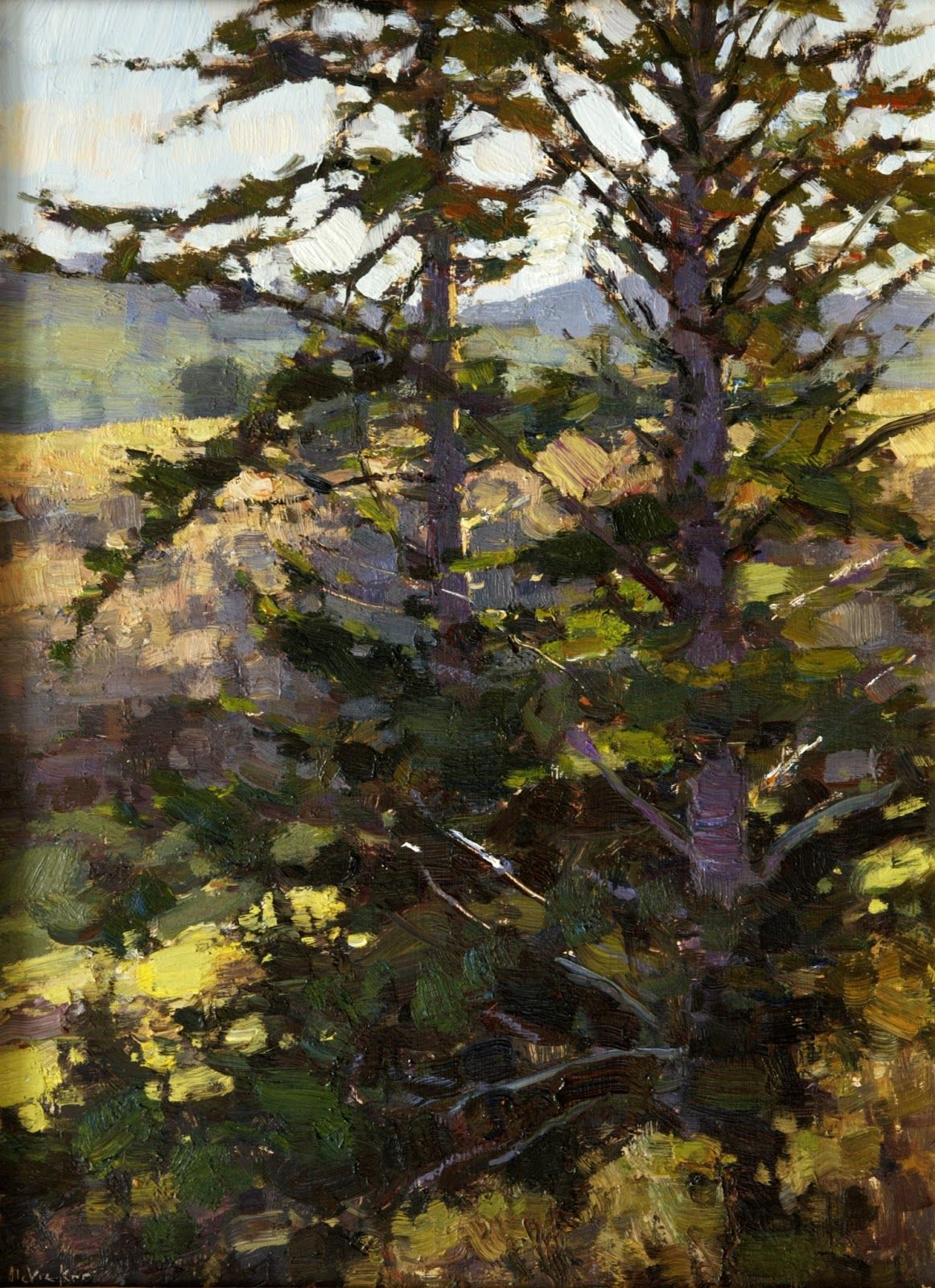 Winter And Spring 2013 Plein Air Paintings