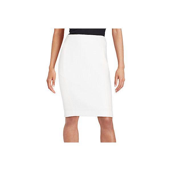 T Tahari Girasole Pencil Skirt ($55) ❤ liked on Polyvore ...