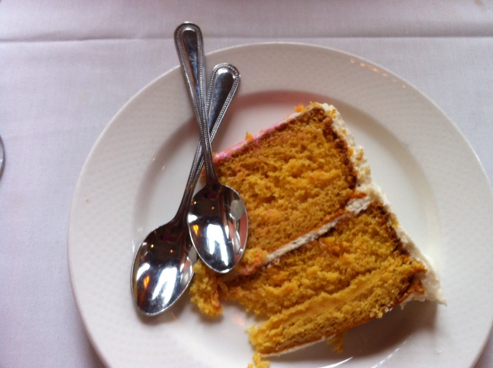 Brick Street Cafe (Greenville, SC) Sweet potato cake