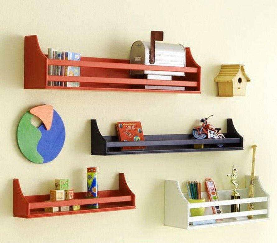 Furniture Ideas , Cool Wall Mounted Bookcase Idea  Cool Wall