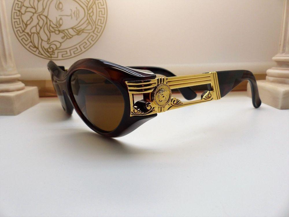bb26f0c2e43 Genuine Rare Vintage Gianni Versace Sunglasses Mod 488 Col 900 New Old Stock   fashion  clothing  shoes  accessories  vintage  vintageaccessories (ebay  link)