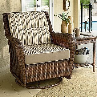 Good Mayfield Swivel Glider Chair  Ty Pennington Style Sears  $279.99