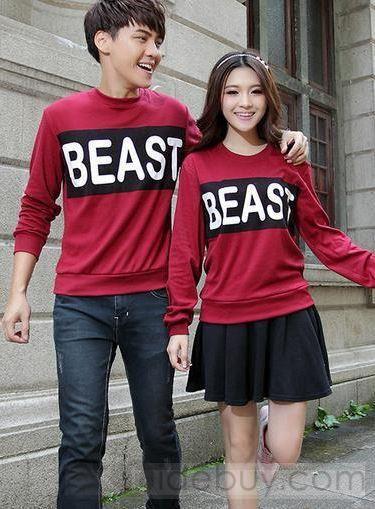 New korean couple