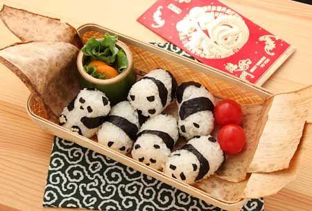 Baby Panda Sushi!! Kawaii!!