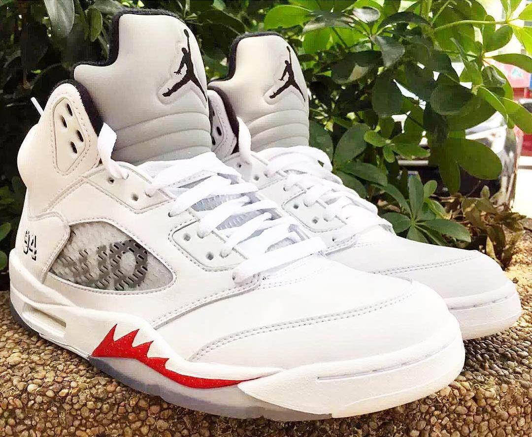 cheap for discount 7cbb6 ce2aa Preview: Supreme x Air Jordan 5 Retro