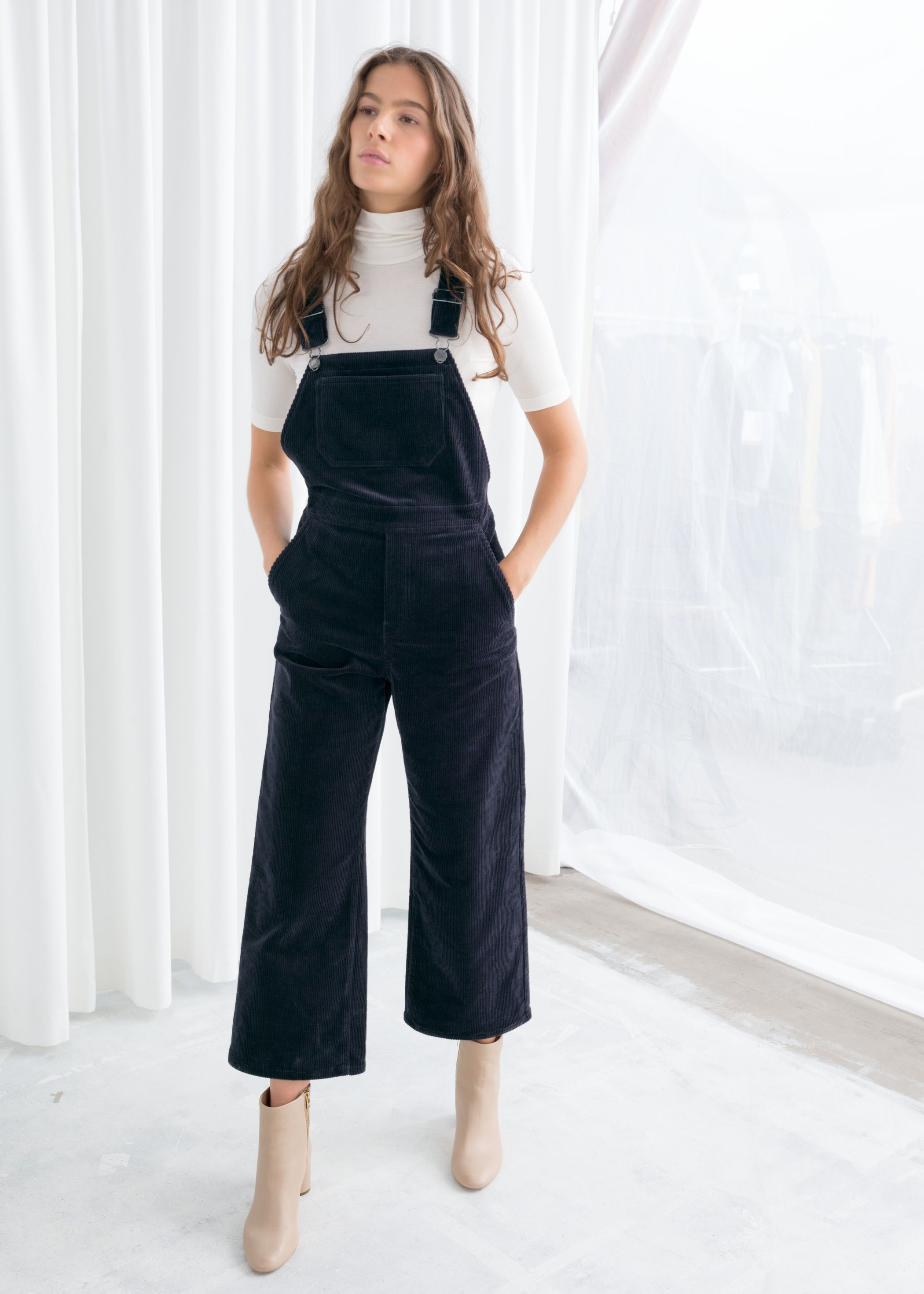 22ff54518 WIDE CORDUROY OVERALLS & other stories, $129 Jean Outfits, Dress Outfits,  Fashion Outfits