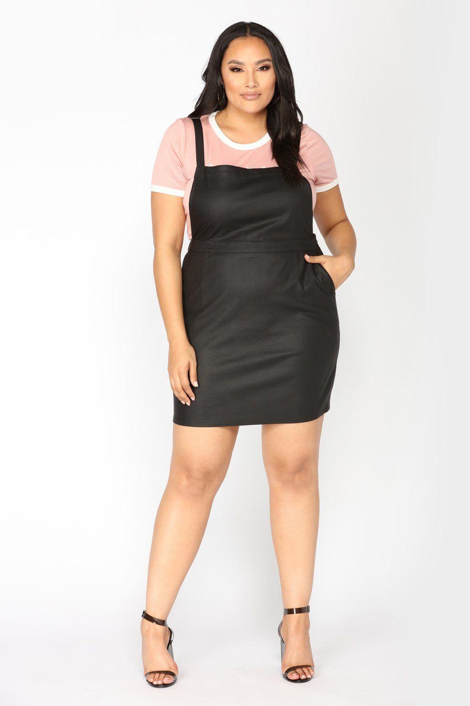 bf1463e973 Shantal Overall Dress - Black