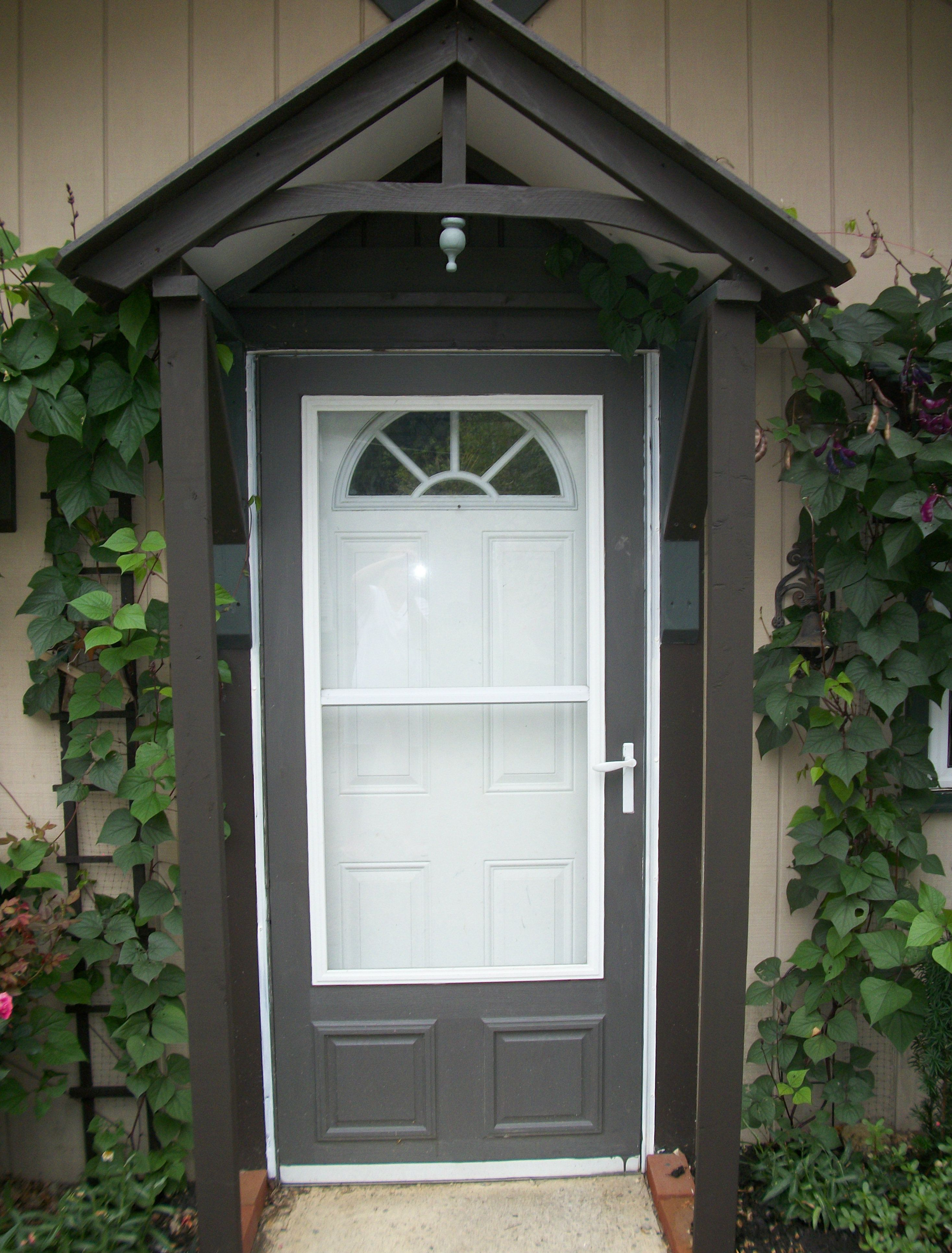 cottage door canopy | exterior | pinterest | vordach, vordach
